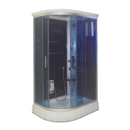 5 years warranty massage corner whirlpool wet steam shower room
