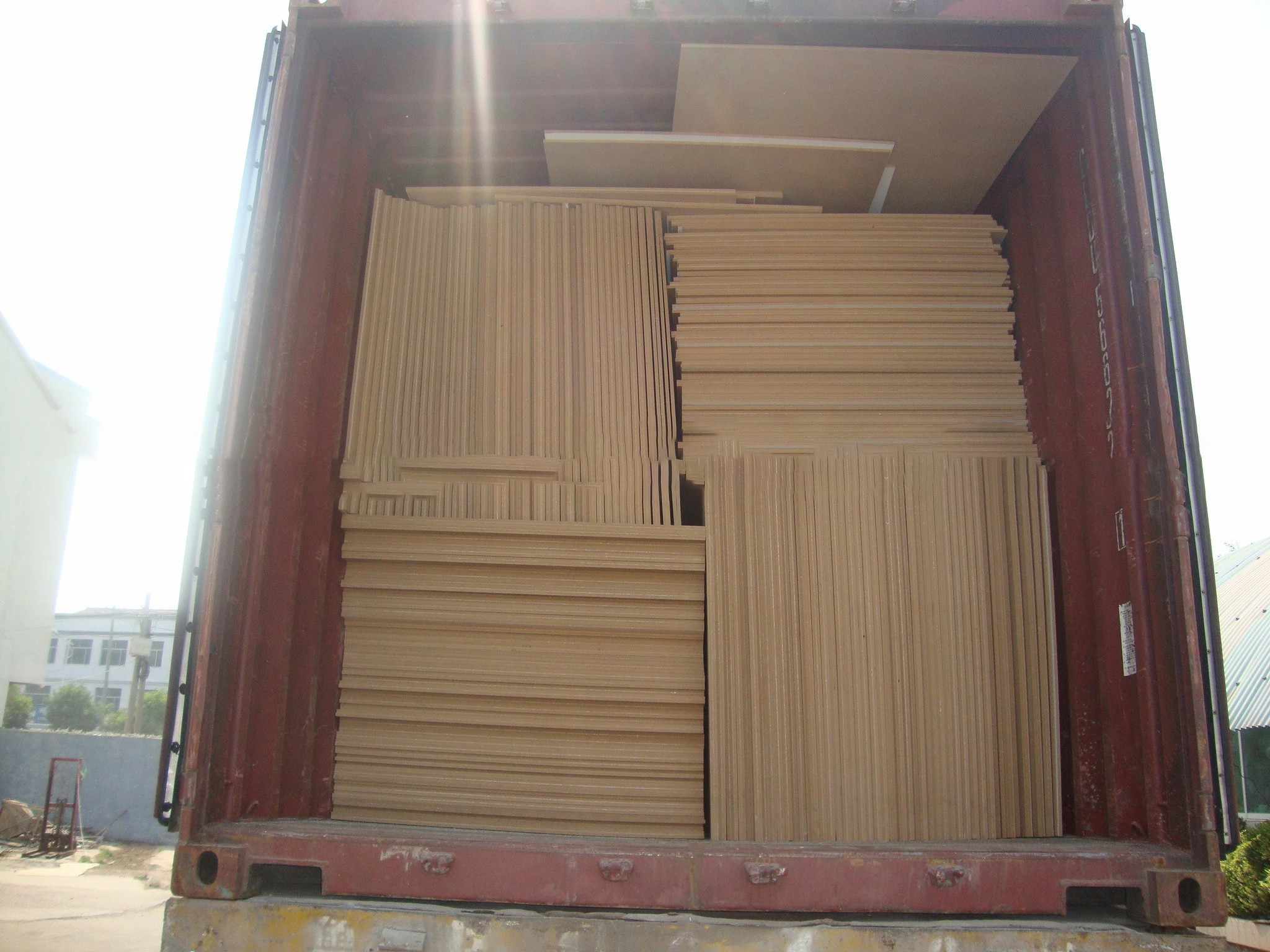 competitive price  high quality plain mdf wood/panel/board/sheet