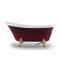 SM6305 4 legs European style Portable soaking floor standing acrylic bath tub