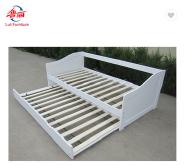 modern solid pine wood living room sofa bed furniture