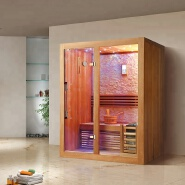Mini portable relax dry steam 1 person optional wood sauna room