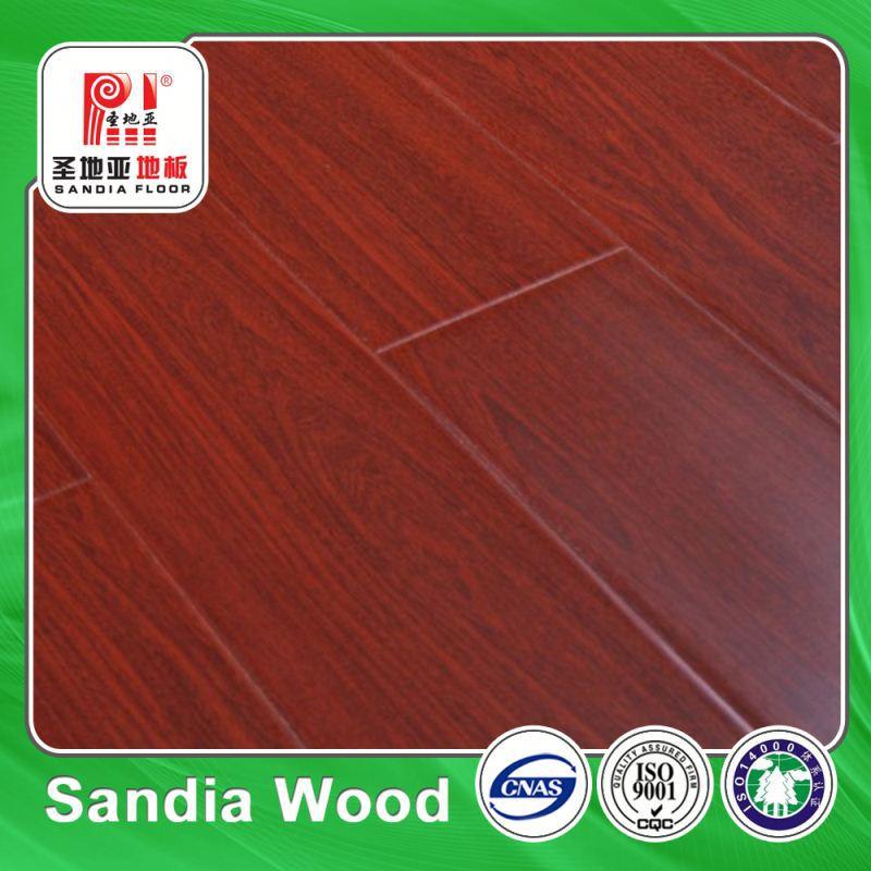 12mm Tonge And Groove Laminate Flooring / White Oak Laminate Flooring