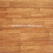 Laminate Waterproof Wood Grain wood Flooring For Interior Decoration