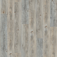 Click locking rigid core vinyl plank for residential and commercial use
