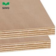 Interior usage 18mm Okoume plywood board