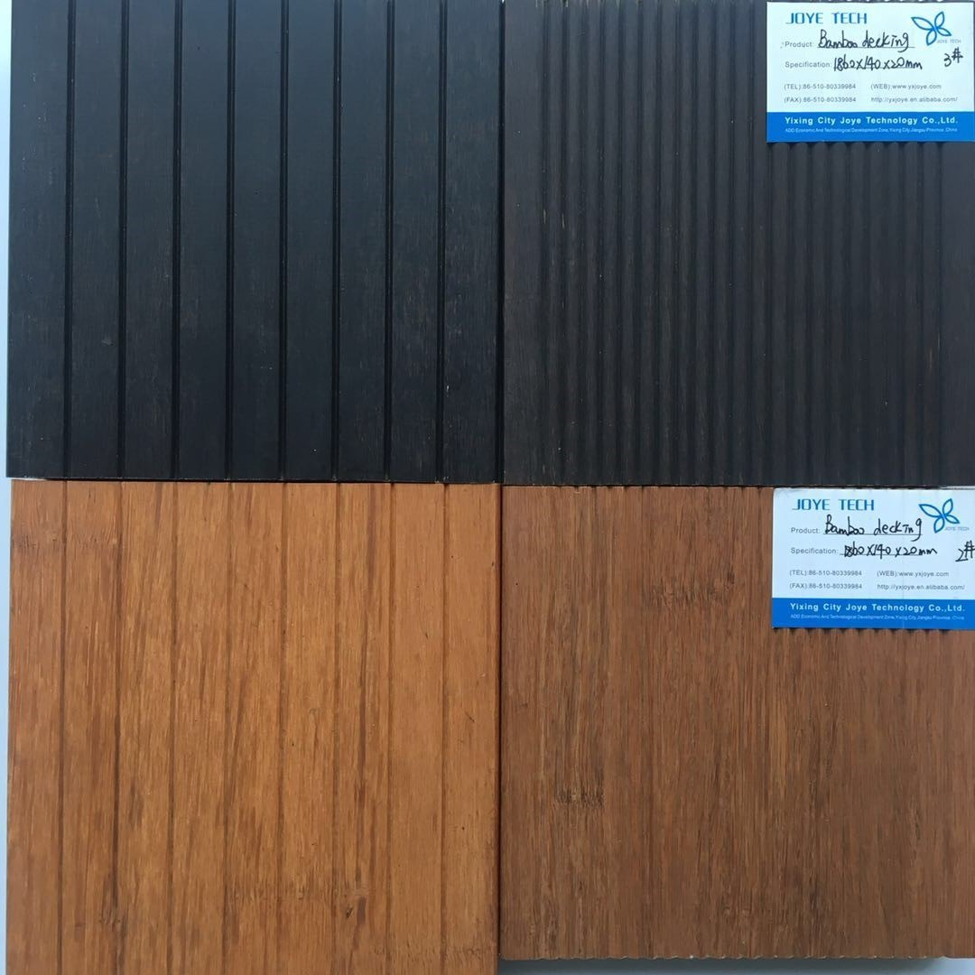 100% formaldehyde free outdoor bamboo plywood decking