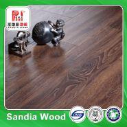 12mm Single Click Sanders Laminated Flooring / Illusion Surface For Laminate Flooring / Hdf