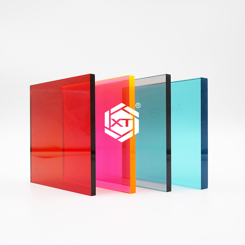 XINTAO 3mm Acrylic Sheets Translucent Semi Transparent Plastic Sheets