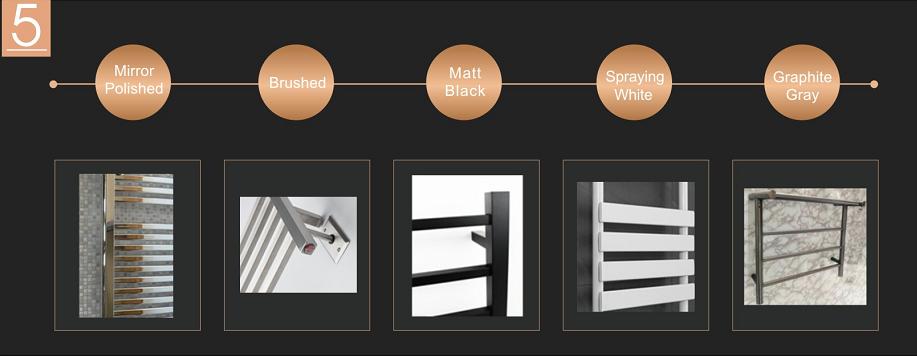 Brand New Quality Assured Latest Designs heated towel rail HTR010-8S