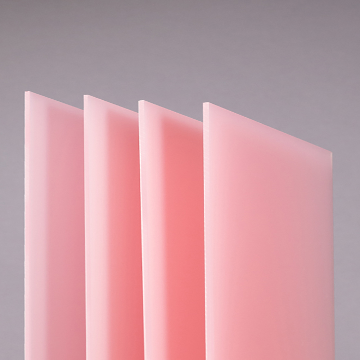 XINTAO Cast Pink Acrylic Sign Plate