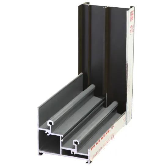 Aluminium Interior Door with Grid