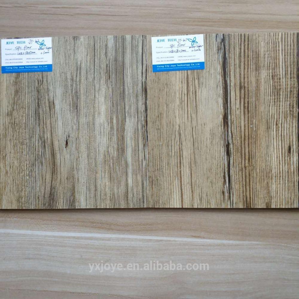 waterproof spc flooring in china