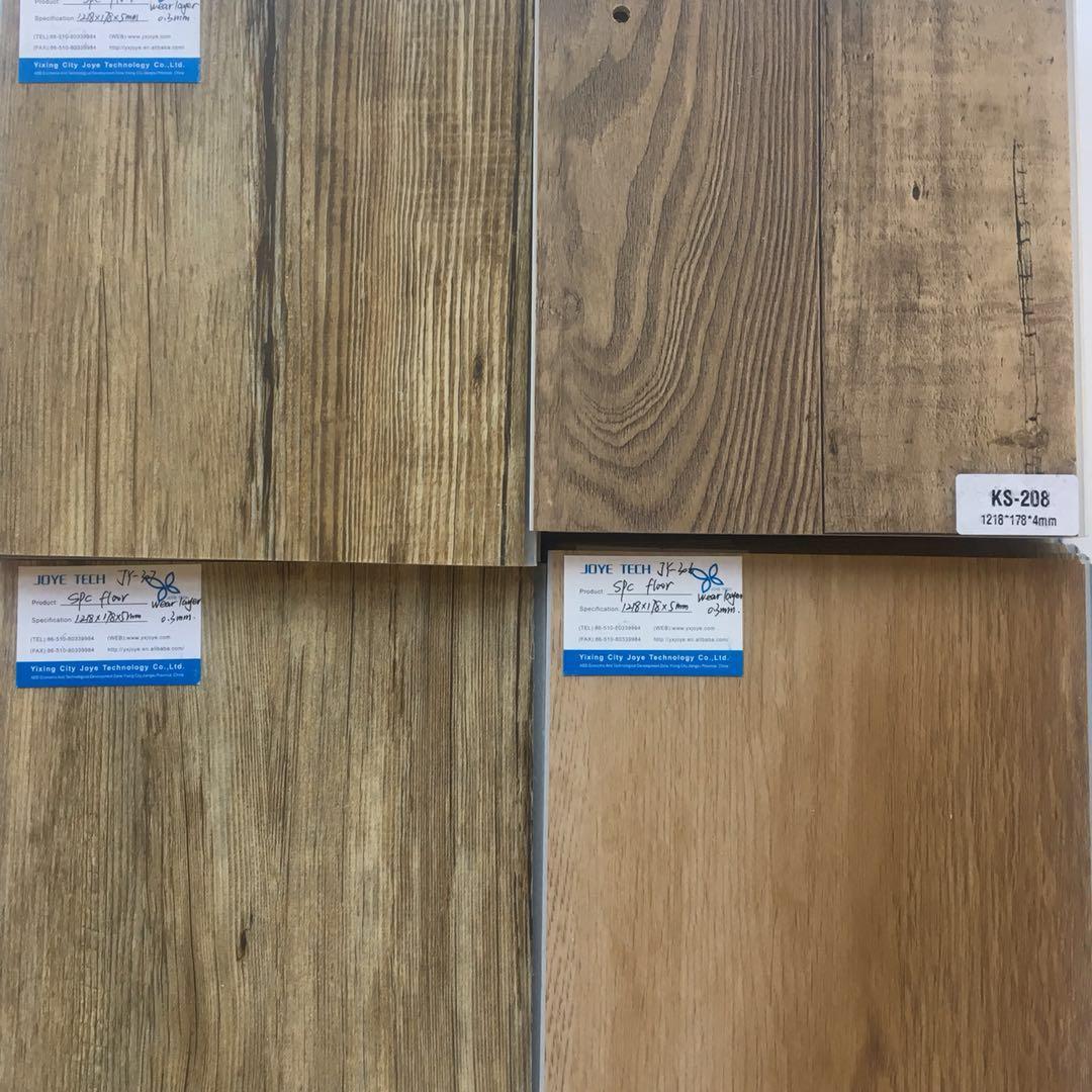 SPC click lock Vinyl rigid core flooring
