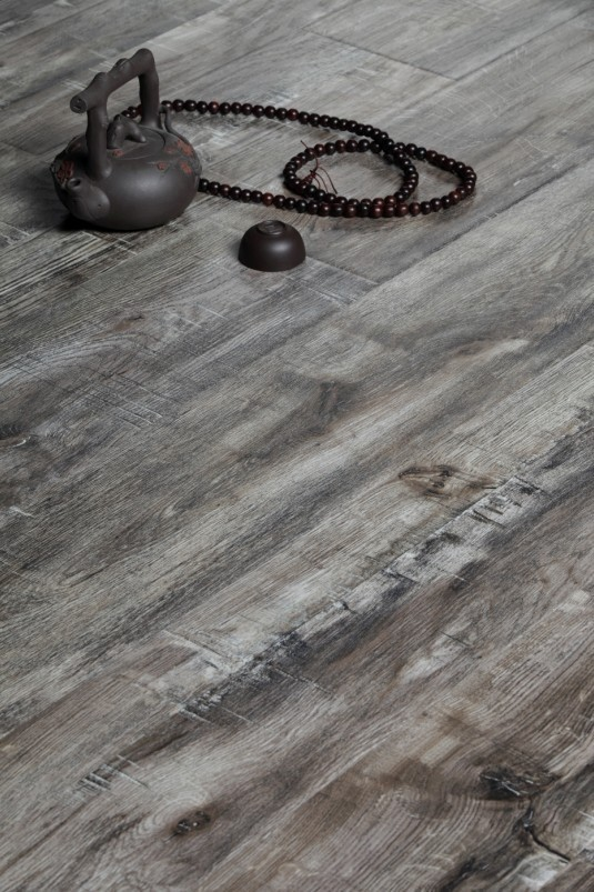 8mm Dark Walnut Laminated Flooring