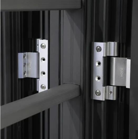 Aluminum Space-Saving Folding Doors and Windows