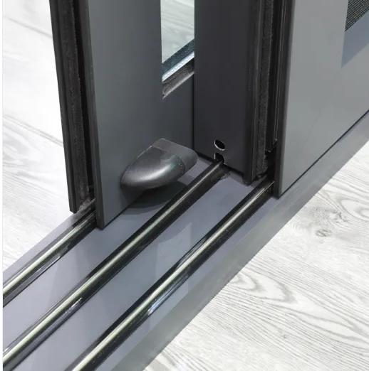 Aluminum Alloy Extrusion Anodized Profile Window