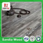 Easy Living Crystal Surface Laminate Flooring /Laminate 14mm Walnut Grey Waterpoof Wood Flooring