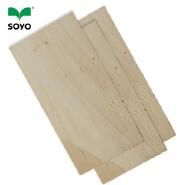 Wada E0 glue poplar birch 3mm thickness commercial plywood