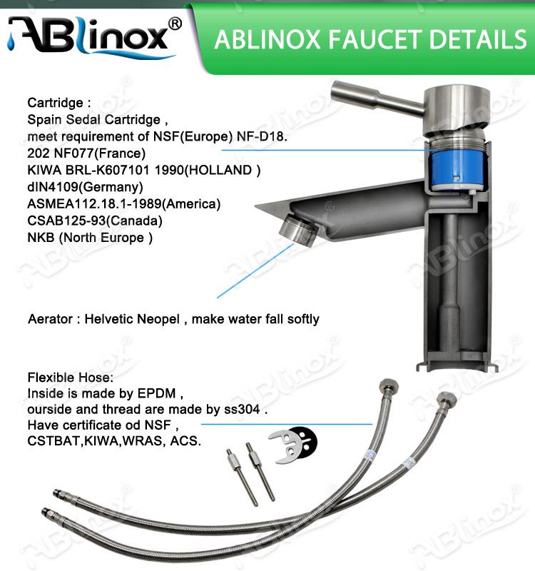 20-35mm Stainless faucet valve core