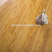 Floors V Groove 12 Mm Wood Grain Design Laminate Flooring 8mm