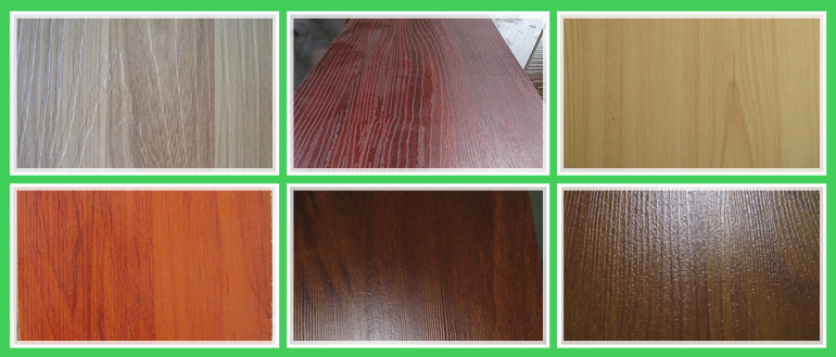 8mm Embossed Wood Texture antique flooring