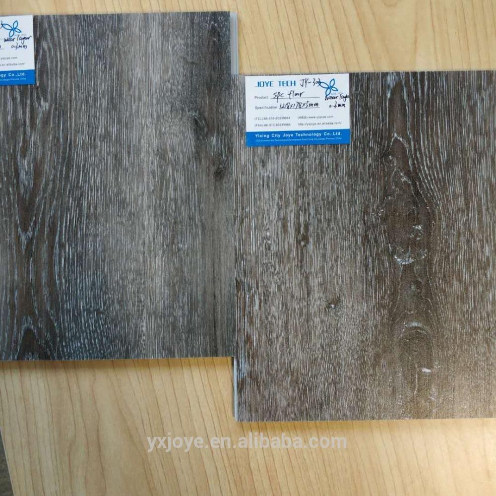 home decoration anti-scratch wood SPC vinyl flooring