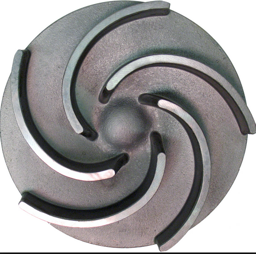High efficient designs steel casting water pump spare parts