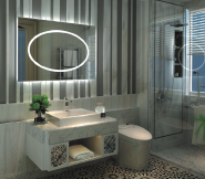 Opening Sale Samples Are Available Special Design LED vanity mirror M-FLW202