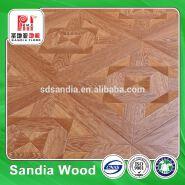 12mm Easy Click HDF Laminate Flooring with Parquet Design