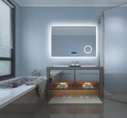 Promotional Quality Guaranteed Customized Design LED vanity mirror M-FLW201