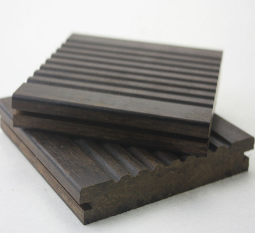 strand woven bamboo decking for swimming pool use