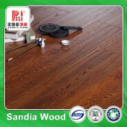Waxed Handscraped Walnut Laminate Flooring / Arc Click Sandal Parquet Laminate Flooring Patterns