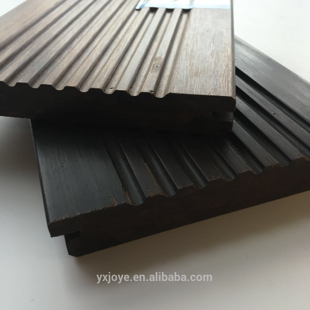 strand woven waterproof outdoor 100% solid bamboo deck flooring