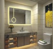 Best Seller Elegant Top Quality Personalized Design LED vanity mirror M-FLW207
