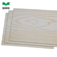 3-18mm WBP Melamine Paper Faced Wood Plywood