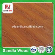 Home Decoration MDF HDF Mirror Effect Laminate Floor