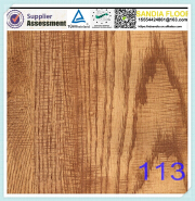 Ac5 Arc Click Mirror Finished Laminate Floor / Premier Classic Oak laminate flooring for stairs