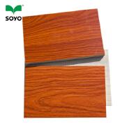 4x8 decorative melamine faced laminated standard size plywood board