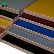cheap price colored plywood sheet / color marine plywood