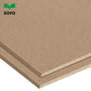 china manufacturer waterproof 2.5mm medium density fiberboard