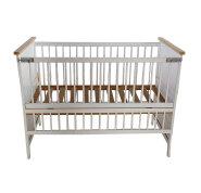 CJ-C006 Hot sale safety newborn Eco-friendly solid wood baby cot