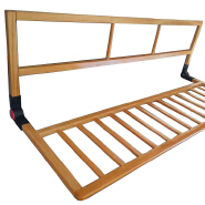 Bed side eco friendly toddler safety bed rail guard