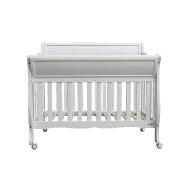 High quality New Zealand pine wood multi-purposes baby crib