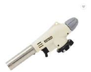 Mini gas torch burner and gas torch lighter