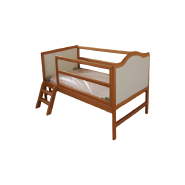 S005 Hot sale safety Eco-friendly solid wood baby bed cot