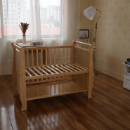 Most Popular Pine Wood Multipurpose Baby Cot Bed