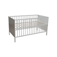 CJ-C008 The best quality New Zealand pine solid wooden baby cot