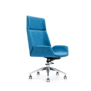 Factory Hot Sale comfortable office adjustable leather meeting chair