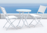 NINGBO JARDER OUTDOOR  CO.,LTD. Outdoor Steel Table and Chair