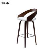 Modern white wooden high bar stool chair , bar chair